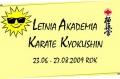 Letnia akademia karate 2009