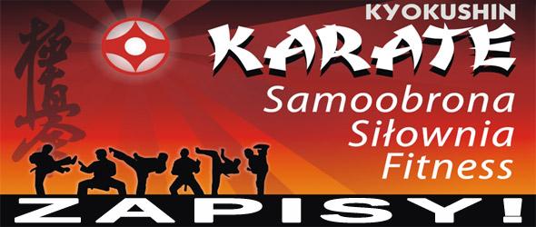 Zapisy na treningi karate dla dzieci, młodzieży i dorosłych