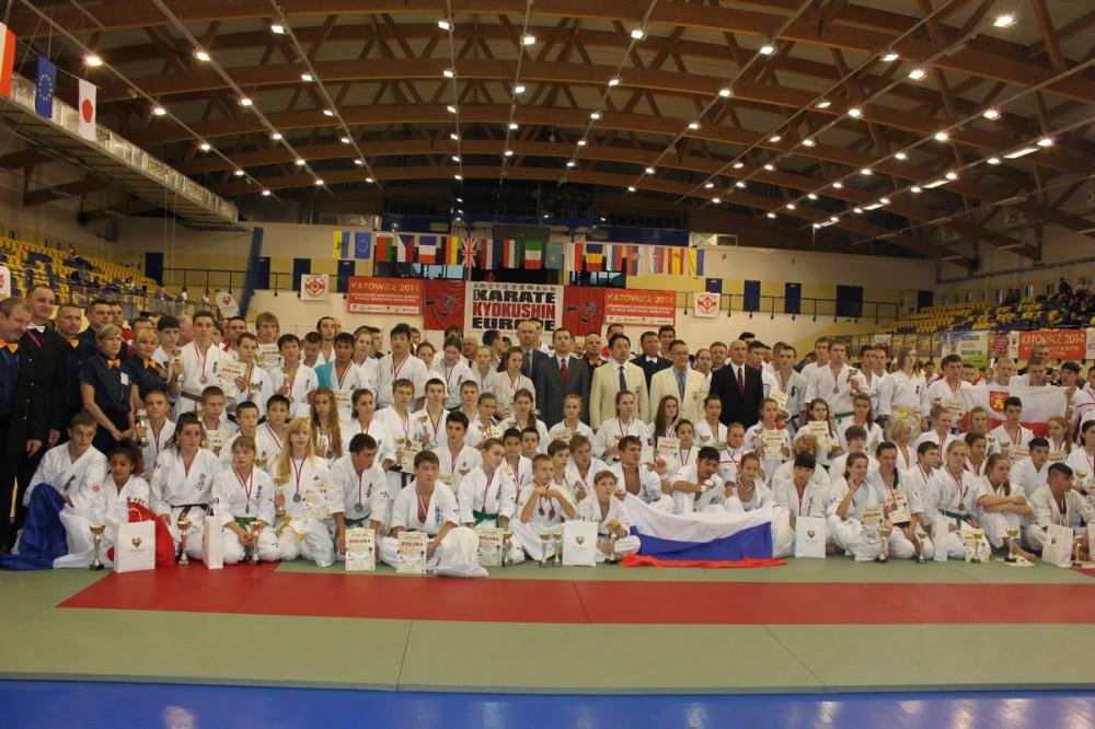 Mistrzostwa Europy Karate Kyokushin Juniorów – październik 2013 - grupowe