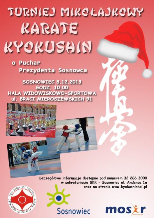 Turniej Mikołajkowy Karate Kyokushin o Puchar Prezydenta Sosnowca