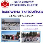 Zimowy Obóz Karate Bukowina Tatrzańska styczeń 2014 - mini